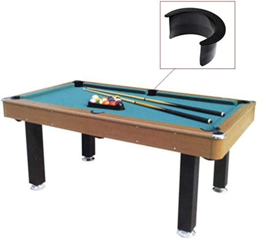 6 Pcs Billiard Table Liners,Pocket Rubber Liners Accessory Set Free Playing English Coin-Operated Pool Table for Billiard Billiard Hall