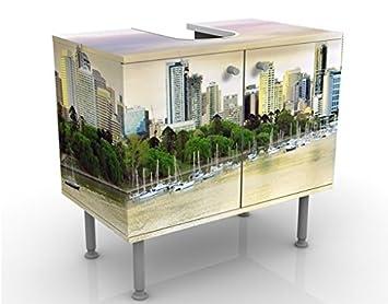 Apalis Diseño Mueble para Brisbane 60 x 55 x 35 cm, pequeño, 60 cm