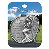 AngelStar 15686 Granddaughter Guardian Angel Visor Clip Accent, 2-1/2-Inch