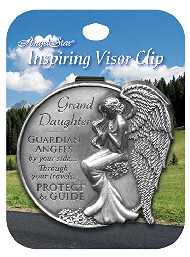 AngelStar 15686 Granddaughter Guardian Angel Visor Clip Accent, ()