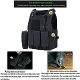KIDYBELL Adjustable Airsoft Vest Lightweight Oxford