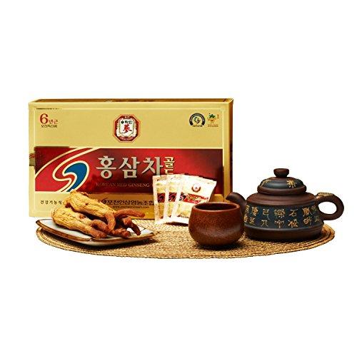 Pocheon 3g x 100p Koreanischer Panax Roter Ginseng Extrakt Tee Gold, 15% Ginseng