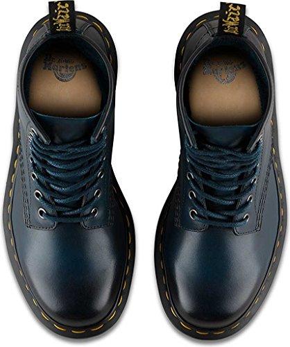 Dr.Martens Womens 1460 8 Eyelet Antique Temperley Blue Leather Boots 36 EU