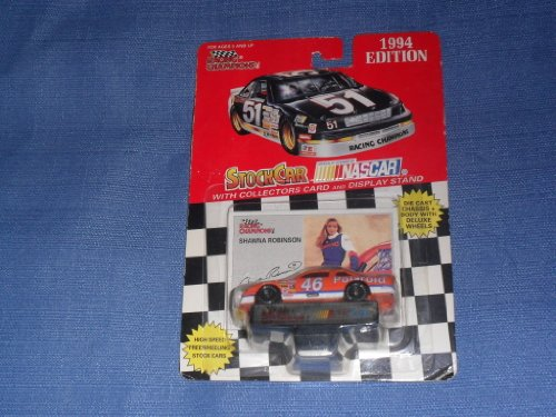 1994-nascar-racing-champions-shawna-robinson-46-polaroid-caseys-general-stores-1-64-diecast-includes