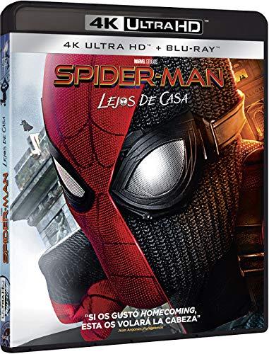 Spider-Man: Lejos de Casa 4K Ultra HD + BD Blu-ray: Amazon.es: Tom Holland, Samuel L. Jackson, Jake Gyllenhaal, Jon Watts, Tom Holland, Samuel L. Jackson, Columbia Pictures, Pascal Pictures, Marvel Studios: Cine