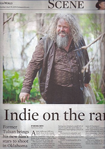 Mark Boone Junior (Let Me Make You a Martyr) - Sunday, April 19, 2015 Tulsa World Entertainment Section,