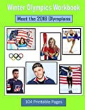 Winter Olympics Workbook:  Meet the 2018 Olympians