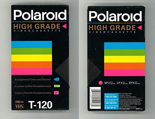 Polaroid High Grade T-12 VHS Video Cassette