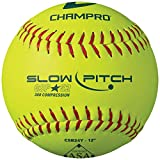"CHAMPRO ASA 12"" Slow Pitch Softball - Durahide Cover .52 COR"