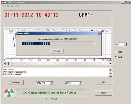 GQ GMC de 320 Plus Geiger counter Nuclear Radiation Detector metros Beta Gamma X Blu-ray Europe: Amazon.es: Bricolaje y herramientas