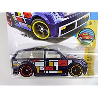 Hot Wheels 2016 H.W. Art Cars Boom Box Super Treasure Hunt Spectraflame Dark Blue 199/250: Toys & Games