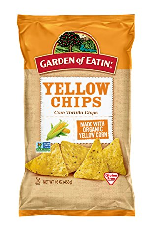 Garden of Eatin' Yellow Corn Tortilla Chips, 16 Ounce (Pack of 12)