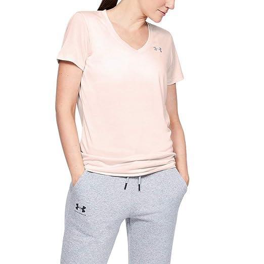 cf7cf563d6 Under Armour Women's Tech V-Neck Twist Short Sleeve T-Shirt