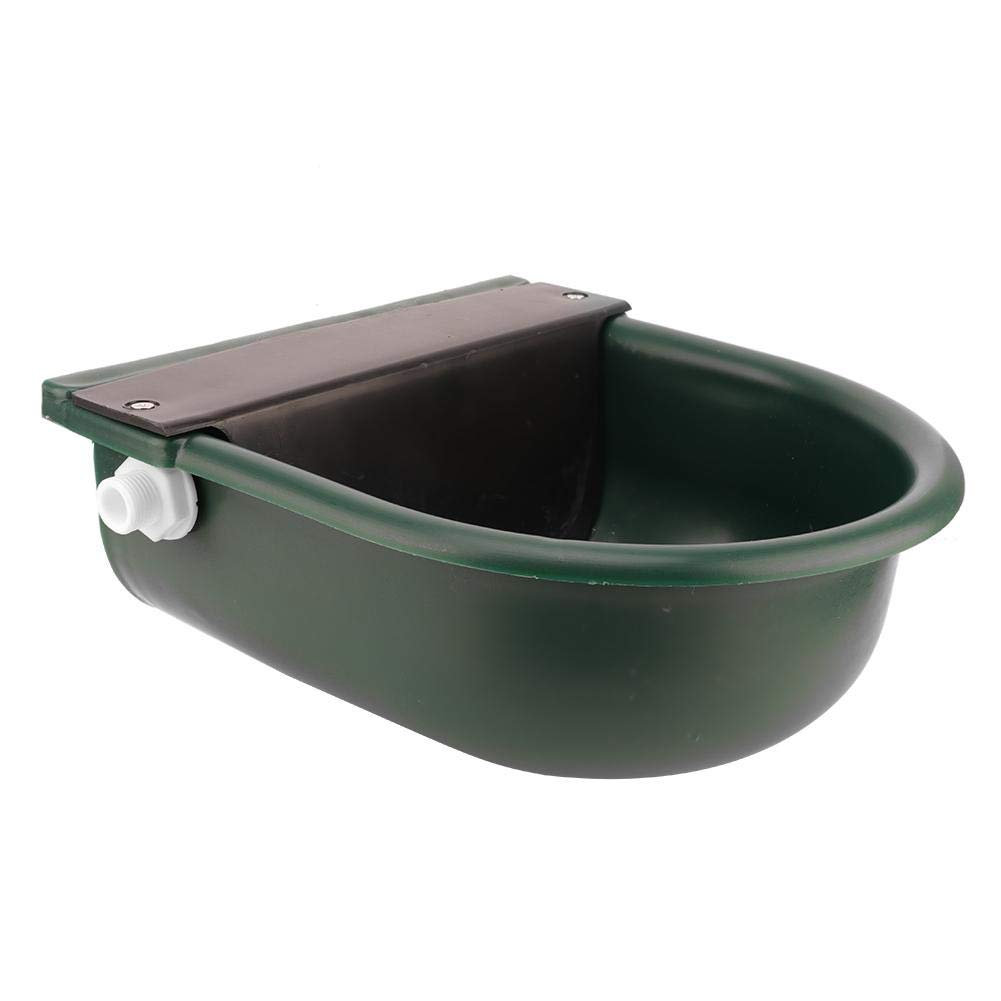 Hffheer Sheep Horse Cattle Automatic Plastic Watering Bowl Float-Ball Type Water Feeder Water Dispenser for Horses Cows Goats Donkey Poultry Watering Supplies by Hffheer