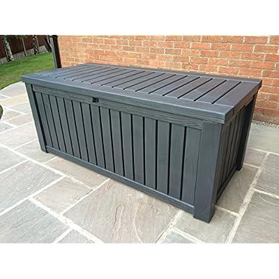 Keter Rockwood Review Jumbo Patio Box