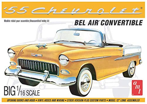 AMT 1134 1/16 1955 Chevy Bel Air Convertible Model Kit (Convertible Bel Air Chevy)