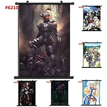 unbrand for Goblin Slayer Wall Poster Scroll Room Home Decoration Wall Art