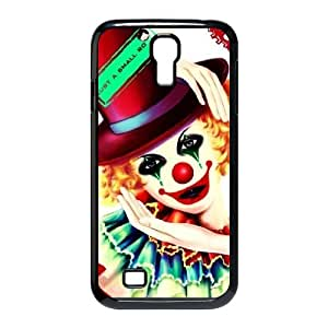 TOSOUL Customized Clown Pattern Protective Case Cover Skin for Samsung Galaxy S4 I9500