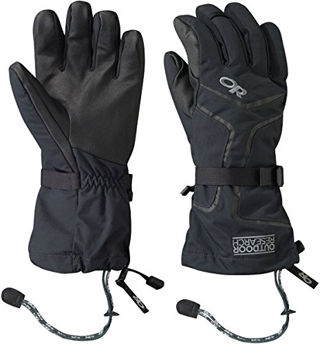 Outdoor Research Men's Highcamp Gloves, Black, Large
