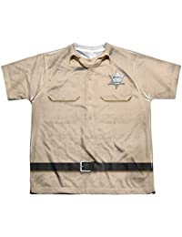 Andy Griffith Sheriff Andy Uniform Youth or Boy's Sublimated T Shirt