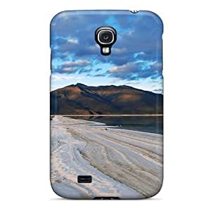 Anti-scratch And Shatterproof Winter Road Phone Case For Galaxy S4/ High Quality Tpu Case