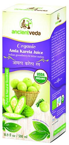 Amla Juice - Ancient Veda Organic Amla Karela Juice - 500 Ml