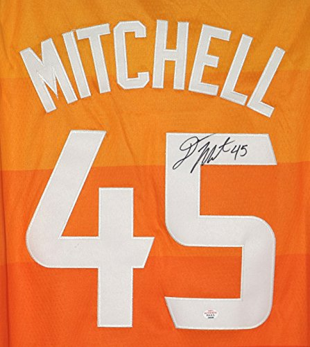 official photos 080a1 88c0f Donovan Mitchell Utah Jazz Signed Autographed City Edition #45 Jersey PAAS  COA