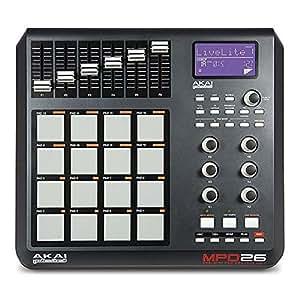 akai professional mpd26 usb midi pad controller musical instruments. Black Bedroom Furniture Sets. Home Design Ideas