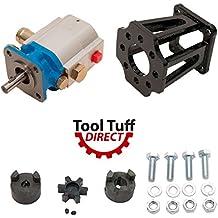 "Log Splitter Build Kit: 11 GPM Pump, Coupler, Mount, Bolts, Huskee, Speeco, etc (For 3/4"" Engine Crankshaft)"