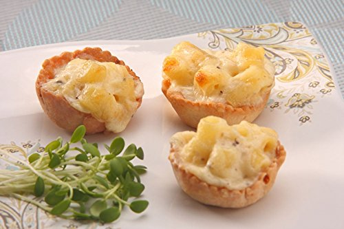 Order Wholesale Truffled Mac & Cheese for Party - Gourmet Frozen Appetizers (Set of 8 Trays)