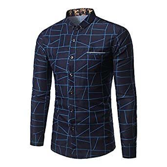 Sleeve Drss Shirts Camisa Social at Amazon Men's Clothing store