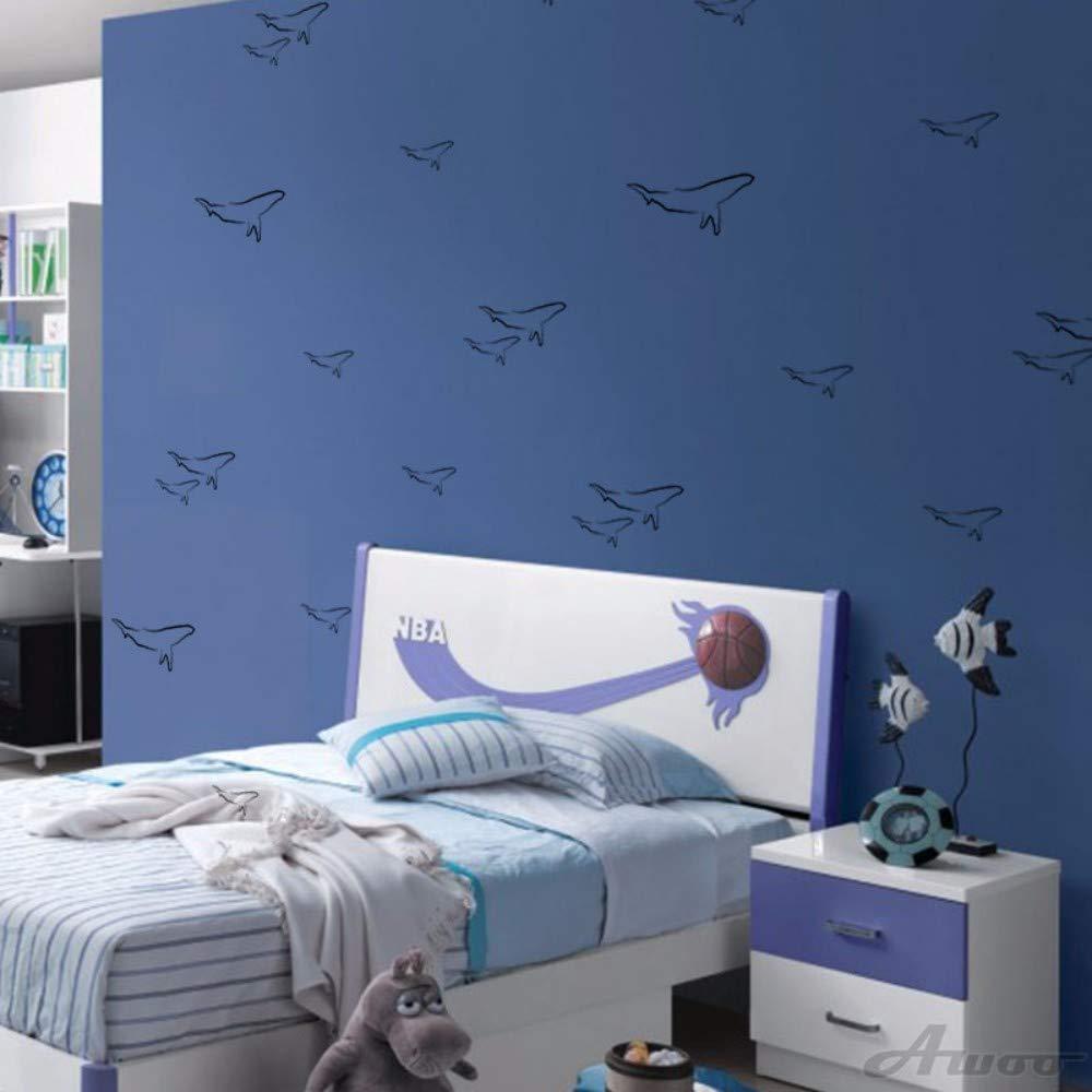 Pegatinas De Pared Animal Creativo Dolphin Wall Sticker ...