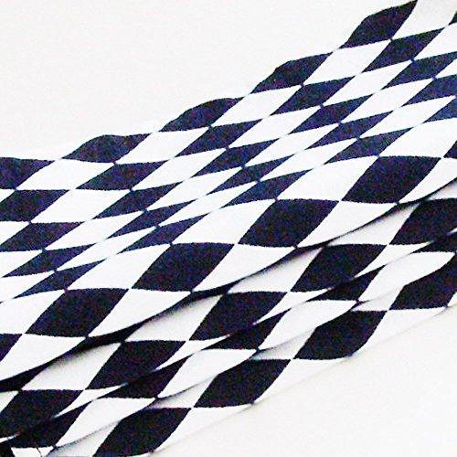 Black and White Harlequin Cotton Napkins (Set of 4) ME2Designs Handmade Table Decor