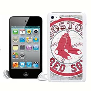 SevenArc Newest MLB Boston Red Sox Ipod Touch 4 Case Cover For MLB Fans