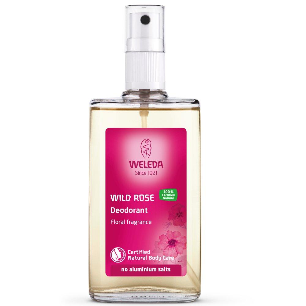 Weleda Wild Rose 24h Deodorant Spray, 3.4-Ounce