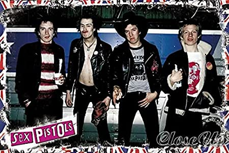 Sex Pistols-Johnny, SIA, Steve, Paul, 61 x 91,5 Cm, diseño ...