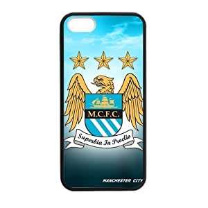 Manchester City MCFC Logo For Iphone 5/5S Phone Case Cover Silicone PC DIY Fly Eagle For Iphone 5/5S Phone Case Cover at Big-dream