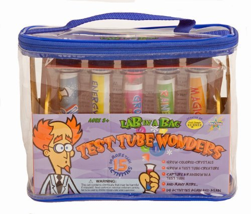 Lab in Bag Test Tube Wonder by Be Amazing Science Toys