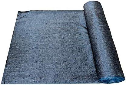 シェードクロス/ 70%ブラックの日焼け止め生地/耐性メッシュネットロール ヘビーガーデンテラス温室パーゴラ納屋および商用グレード