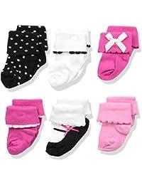 Baby Basic Socks, 6 Pack