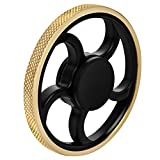 Fidget Spinner, figet spinner Toy Time Killer Golden Steering Wheel