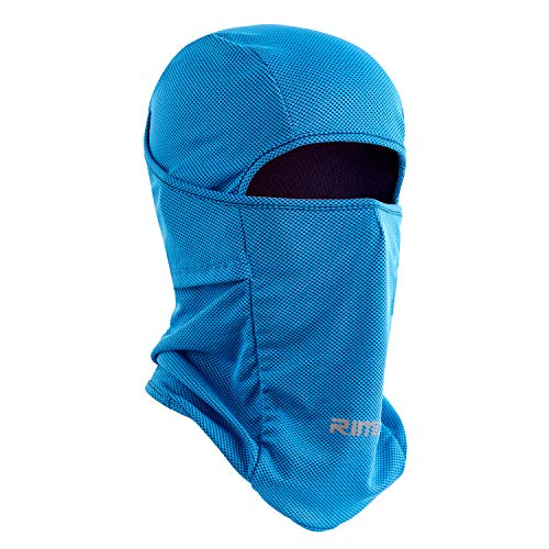 (Botack Ice Silk Balaclava UV Protection Windproof Breathable Full Face Mask Adjustable Cycling Hiking Mask for Men Women)