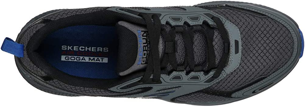 Skechers Go Run Consistent Performance Running & Walking Shoe Chaussures de Sport pour Homme Anthracite Bleu