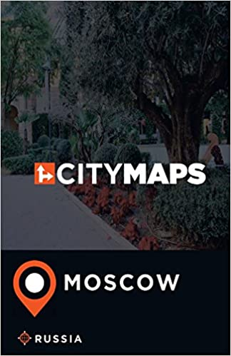 Book City Maps Moscow Russia