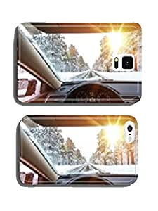 Icy Road Winter Drive cell phone cover case iPhone6