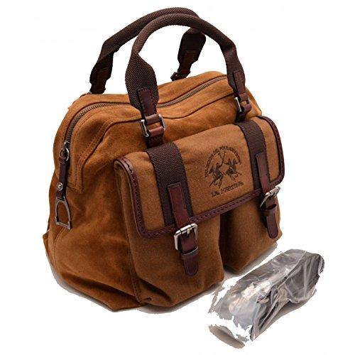 Borsa tracolla La Martina Polo Uomo Donna Pelle Jaramillo  Amazon.it   Scarpe e borse 85519d63604