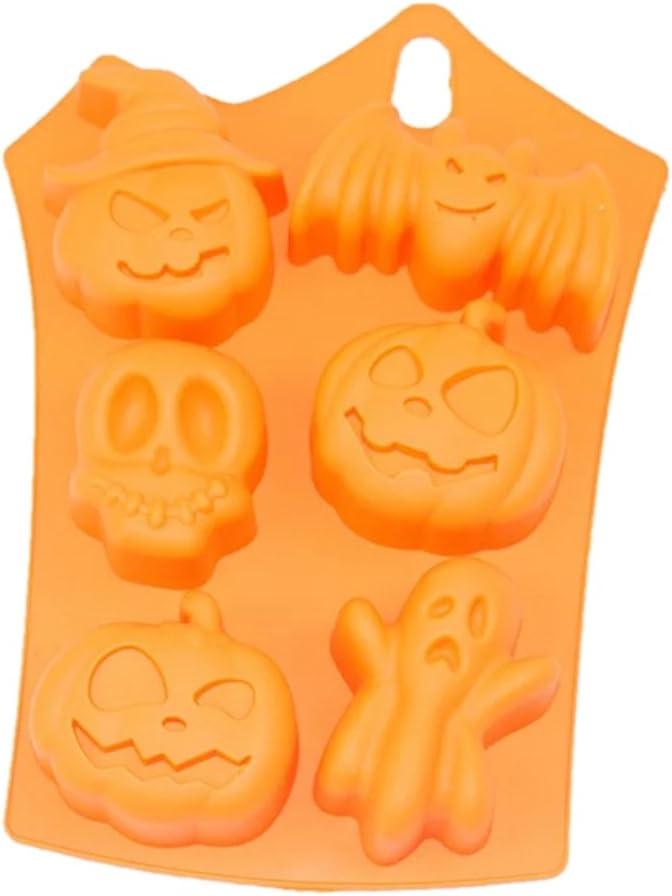 Halloween Pumpkin Design Silicone Baking Cake Mold Fondant Handmade DIY Decor