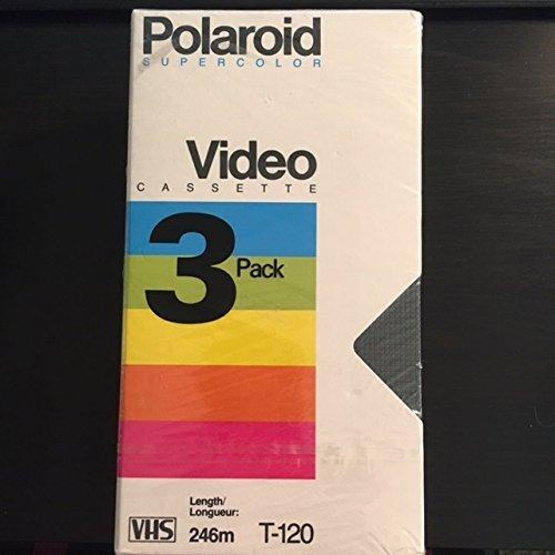 Polaroid Supercolor Video Cassette 3 Pack