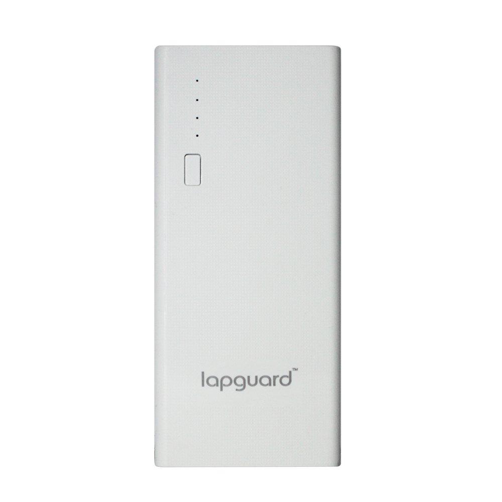 Lapguard 10400 mAh Lithium Ion Power Bank LG514  White  Power Banks