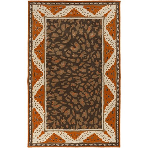 Hooked Wool Woodland Animals Rug B00omh5vzq